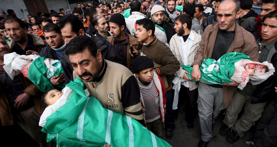 MIDEAST PALESTINIAN ISRAELI GAZA CONFLICT